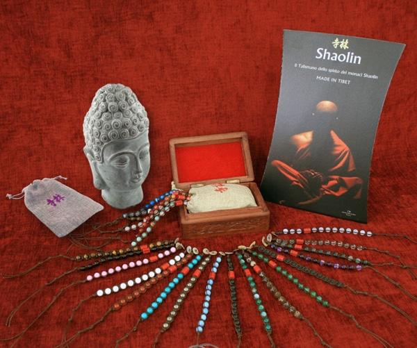 Bracciali Tibetani Shaolin con pietre - La Soffitta