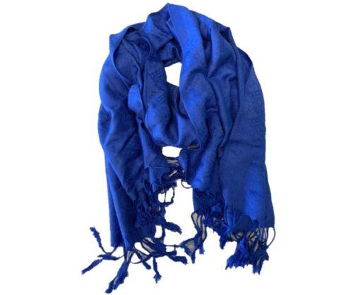 Pashmina blu