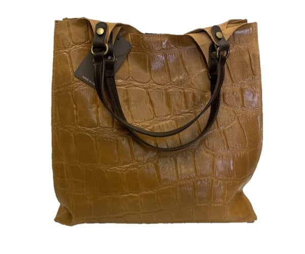 Maxi Borsa Diva's bag Ginevra Cognac S71213/CO - La Soffitta